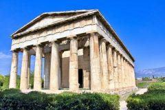 agoraphobiaの由来である古代アゴラのヘファイストス宮殿